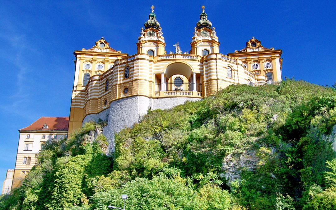 Along the Danube, monasteries and landscapes